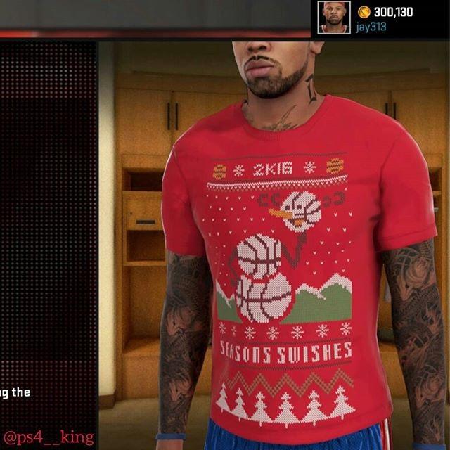 NBA 2K Holiday Promo - James